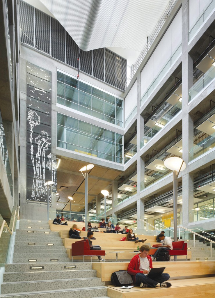 IEEL Building, University of Calgary.  Image courtesy Perkins & Will Canada Architects Co.