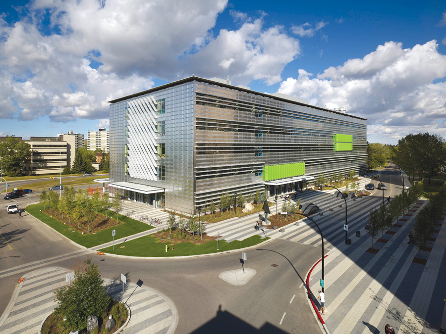 IEEL Building, University of Calgary. Image courtes Perkins & Will Canada Architects co.