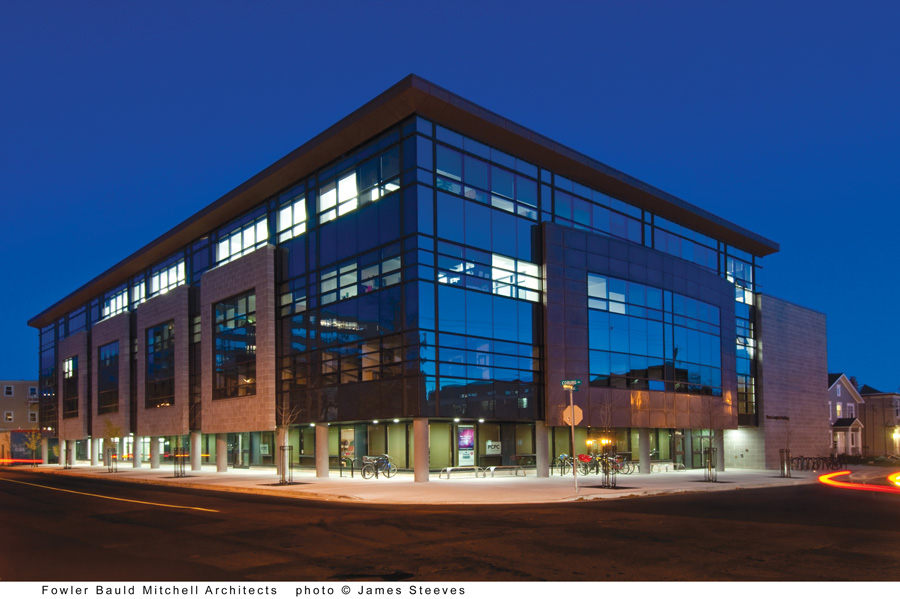 Mona Campbell Building, Dalhousie University, Halifax, N.S. Image courtesy CBCL.