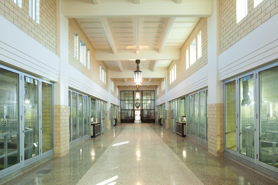 Woodward Water Treatment Plant, in Hamilton, Ontario.  R.V. Anderson & Associates were the consulting engineers on the award-winning restoration.