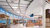 U.S. Departures Area, Edmonton International Airport.  Photo courtesy Stantec.