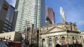 Downtown Toronto, with the Hockey Hall of Fame in foreground. Photo BP/CCE