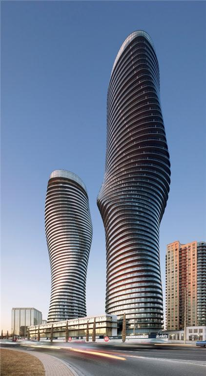 Absolute Towers, Mississauga, Ontario. Photo by Tom Arban.