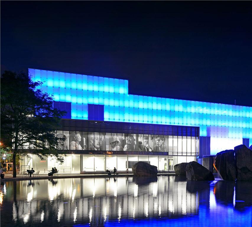 Ryerson Image Centre, Toronto. Photo by Tom Arban/Diamond and Schmitt Architects