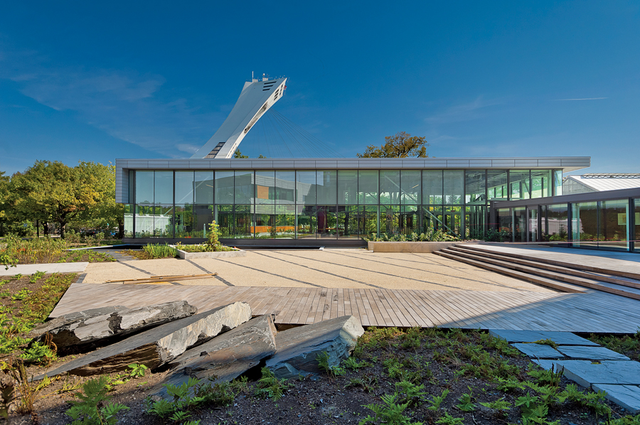 Located off campus at the Montreal Botanical Gardens near Olympic Park, the centre is both a research laboratory and an exhibition centre.