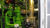 Cogeneration equipment at the Nanaimo Pollution Control Plant.