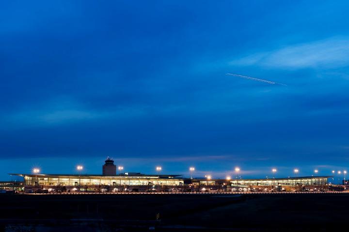 Winnipeg James Armstrong Richardson International New Air Terminal Building.