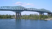 Existing Champlain Bridge, which opened in 1962.