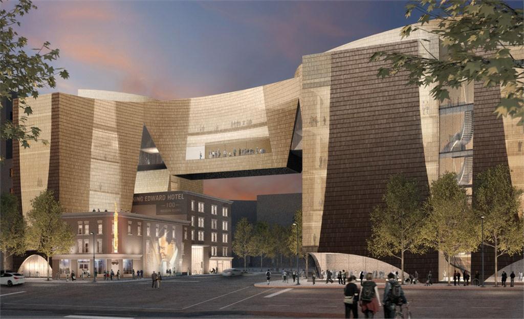 National Music Centre, Calgary. Image courtesy NMC.