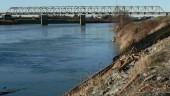 Skagit River Bridge before it collapsed in May. Image author Wsiegmund, from Wikipedia Commons.
