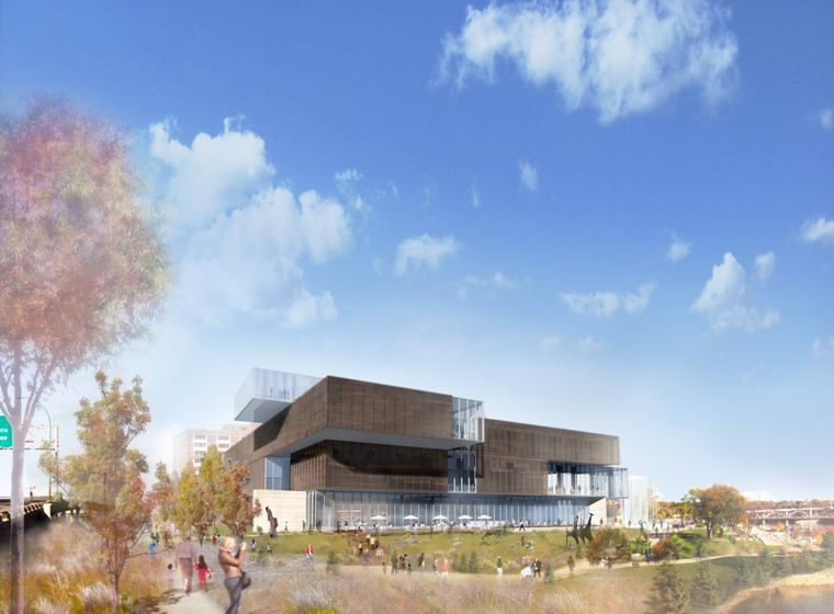 Remai Art Gallery of Saskatchewan in Saskatoon. Artist's rendering by Adrian Phiffer/KPMB.