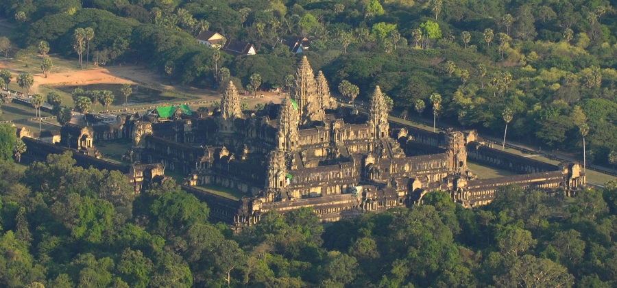 Ancient city of Angkor in Cambodia. McElhanney Consultant helped uncover the site of another ancient city, Mahendraparvata, 40 kilometres NE of this famous tourist site.