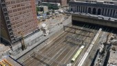 Entuitive of Toronto is designing the Manhattan West Platform, a structure over busy commuter rail lines in New York.