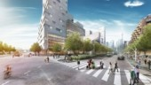 """Waterfront Toronto's image of what the new """"boulevard"""" would look like that would replace a 2.4-km eastern section of the elevated Gardiner Expressway."""