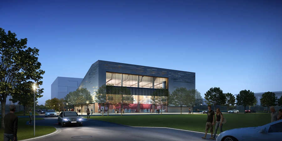 New District Energy Centre at the University of British Columbia. Image courtesy DIALOG.