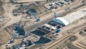 Tunnel at Calgary International Airport under construction.  Photo courtesy CH2M HILL.