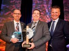 Tetra Tech team receiving their award at the 12th Grand Prix du gnie-conseil qubcois given by AICQ in Montreal, June 10.