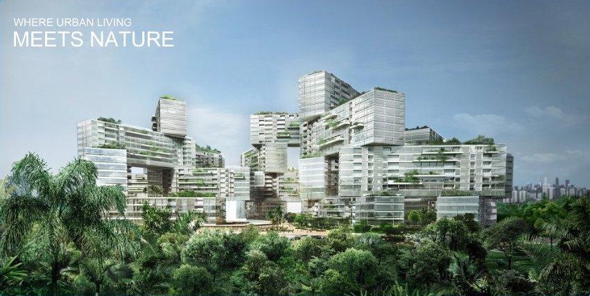 Interlace Building, Singapore.