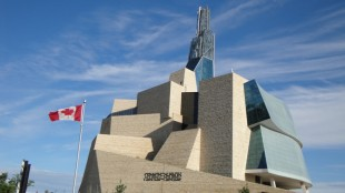 Canadian Museum for Human Rights, Winnipeg.  Photo: BP/Canadian Consulting Engineer.