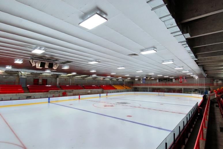Centre Civique de Dollard-des-Ormeaux, Quebec. Exp won an ASHRAE Technology Award for the project.