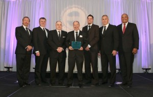 Ellis Engineering receiving the Willis Chipman Award at the 2015 Ontario Consulting Engineering Awards on April 18.  Photo:  Consulting Engineers of Ontario.