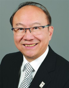 Thomas Chong, MSc, P.Eng., president of Professional Engineers Ontario (PEO) for 2015-2016.