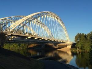 Vimy Memorial Bridge, Ottawa.  Photo courtesy Parsons.