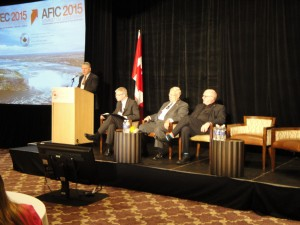 2015 ACEC Leadership Summit panel with John Boyd (second from right). Photo: CCE