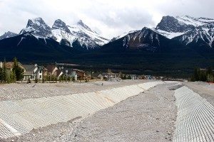 Rehabilitated Cougar Creek in Canmore, Alberta, one of the communities hardest hit during the June 2013 floods.  Photo (c)  Bill Corbett.