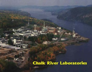 Chalk River Laboratories, owned by AECL.