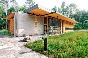 Bill Fisch Forest Stewardship and Education Centre, Stouffville, York Region, Ontario. Photo courtesy DIALOG.
