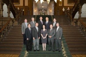 Consulting Engineers of Ontario Delegation at Queens' Park, Toronto on October 5, 2015.