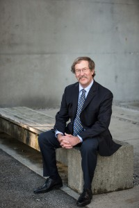 John Clague, President of APEGBC, 2014-2015.