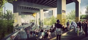 Project: Under Gardiner in Toronto. By PUBLIC WORK.