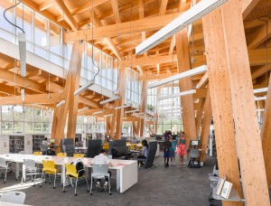 Toronto Public Library Scarborough Civic Centre Branch. Photo: Ben Rahn.