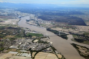 Proposed bridge to replace Massey Tunnel between Surrey and Delta, B.C. Image: BC Ministry of Transportation and Infrastructure.