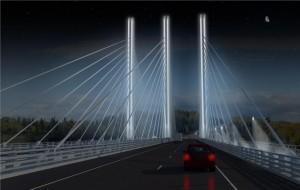 Rendering of Nipigon Bridge, Northern Ontario. Image: Ministry of Transportation, Ontario.