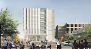 Carleton University Health Sciences Centre, Ottawa. Image: Montgomery & Sisam & NXL Architects.