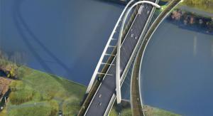 Design concept of new Walterdale Bridge in Edmonton. Image: www.edmonton.ca/transportation