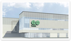 GO Transit East Rail Maintenance Facility, Oshawa. Artist's rendering.