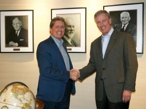 Bob Gomes (left) and Alan Krause.  Image:  Stantec.