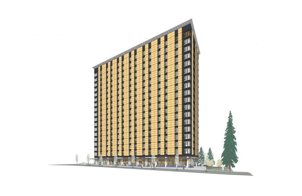 Brock Commons, University of British Columbia. Image courtesy Acton Ostry Architects.