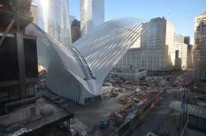 Transportation hub at the World Trade Center, Manhattan, New York. Photo: COWI North America.