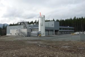 Nanaimo Wastewater Treatment Plant, Nanaimo, B.C. Photo: City of Nanaimo.