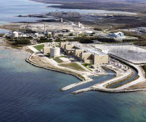 Bruce Power Station near Lake Huron, Ontario. Photo: Bruce Power