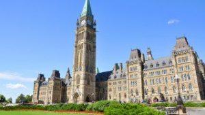 Parliament hill. Photo: Ottawa Tourism.