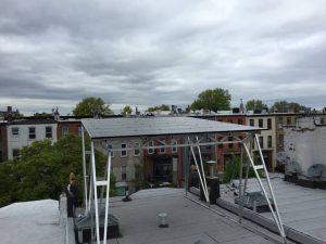 Brooklyn Solar Works canopy.