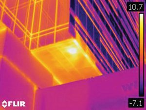 Infrared thermography. Image: Williams Engineering
