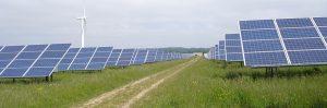 Solar farm studied by Lancaster University, U.K.