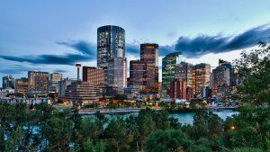 Calgary Skyline.  Image: Calgary Tourism.